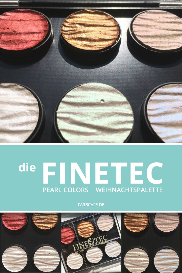 FineTec Pearl Colors Weihnachtspalette