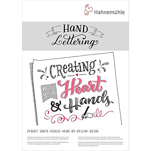 Hahnemühle Hand Lettering Block