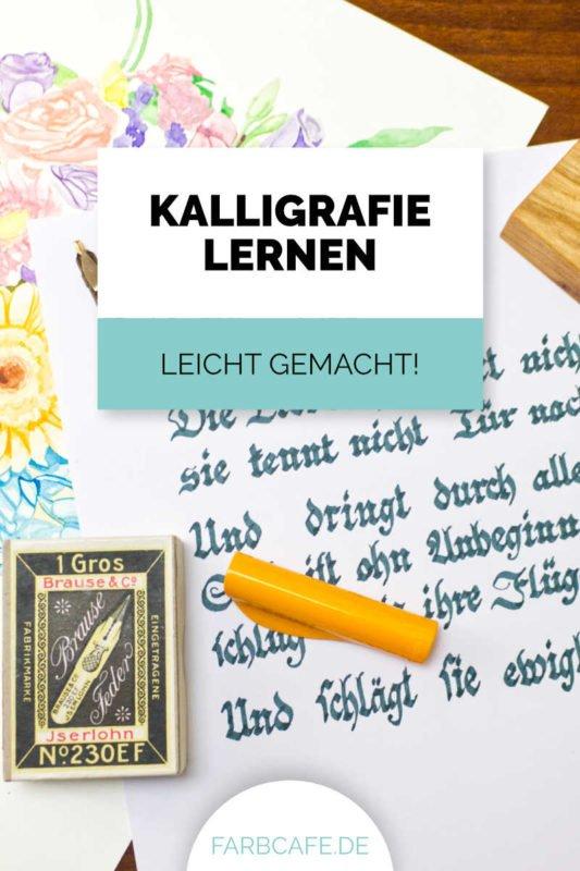 Kalligrafie für Anfänger. Ich zeige dir, wie du ganz leicht deinen Einstieg in die #Kalligraphie findest