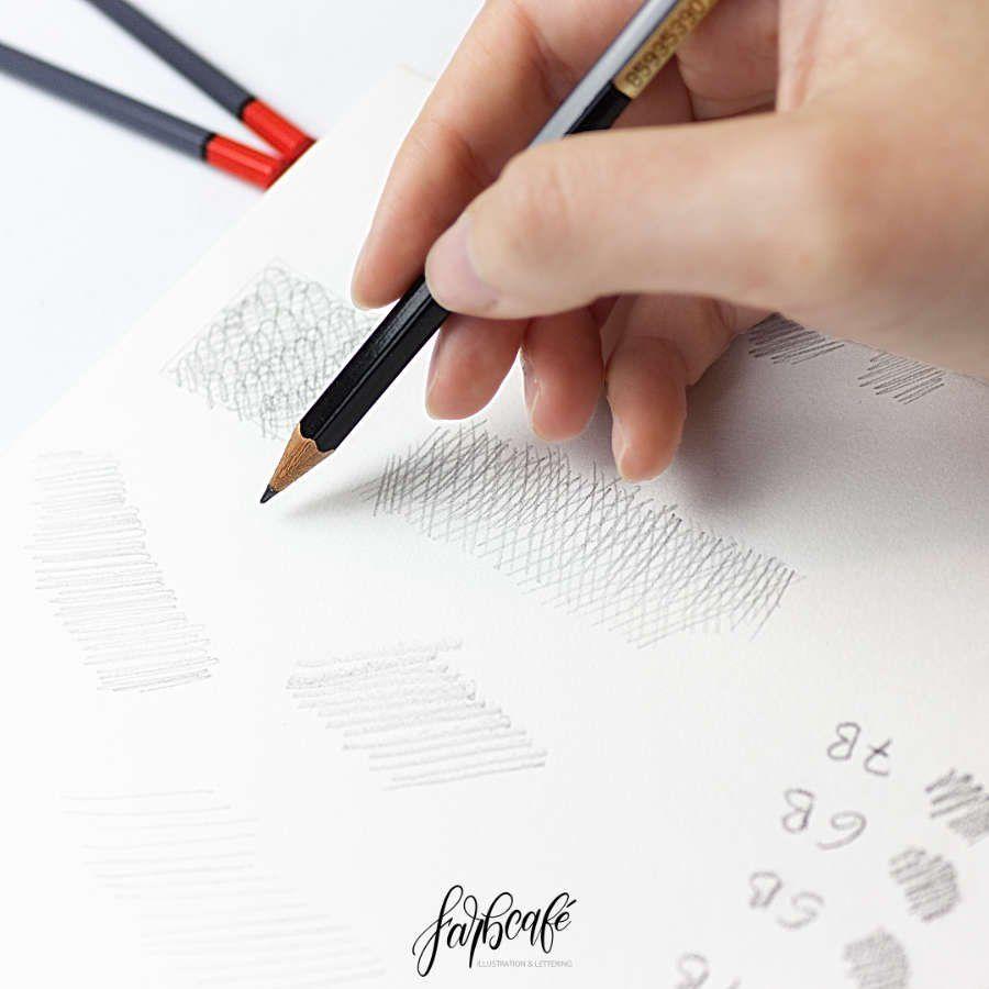 Zeichnen Lernen Schritt Fur Schritt Striche Und Schraffuren Farbcafe