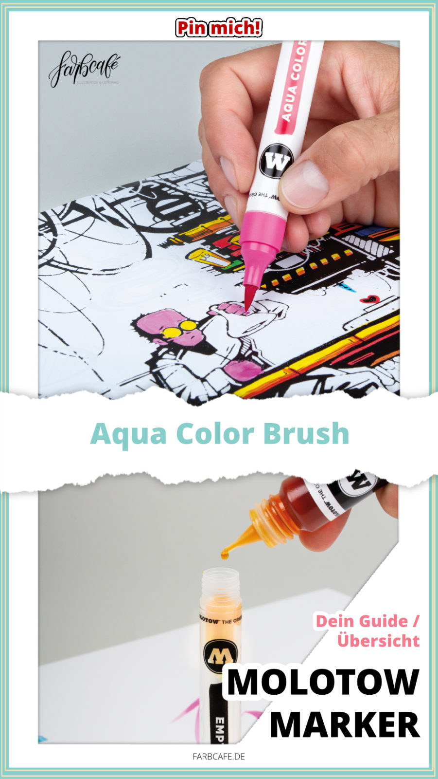 Molotow Marker Aqua Color Brush