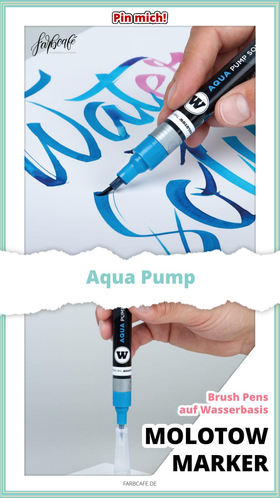 Molotow Marker Aqua Pump