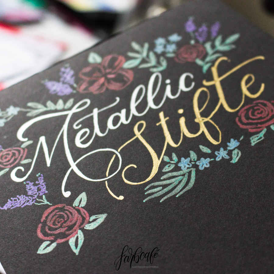 Metallic Stifte Review FarbCafé