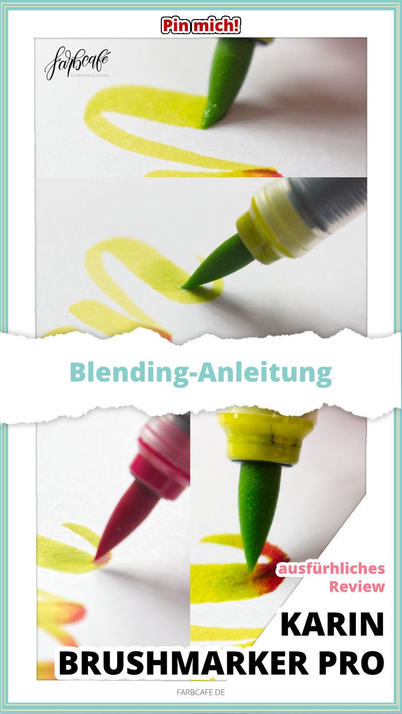 Karin Brushmarker Pro Blending-Anleitung farbcafe
