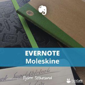 Evernote und Moleskine Testbericht auf FarbCafé