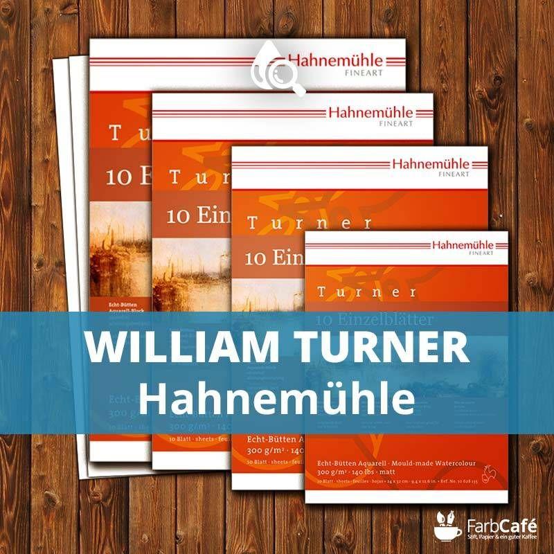 Hahnemühle Aquarell William Turner Testbericht