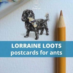 Lorraine Loots von Postcards for Ants im Interview auf FarbCafé