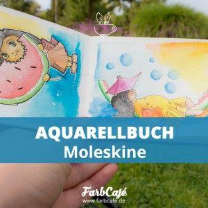 Aquarell Buch von Moleskine