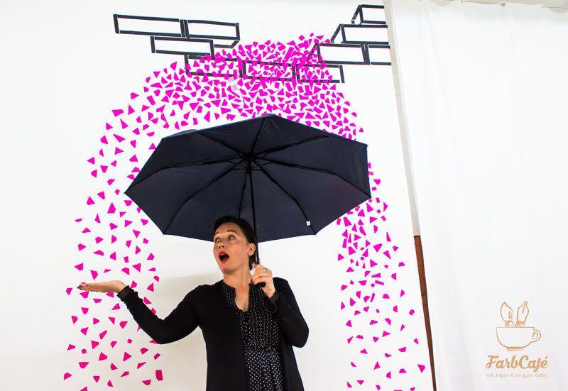 Tape Art Künstlerin Anja Braunschweig in Berlin Wedding