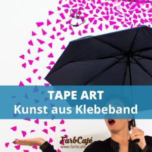 Tape Art ist Kunst aus Klebeband und auch in Berlin zu Hause