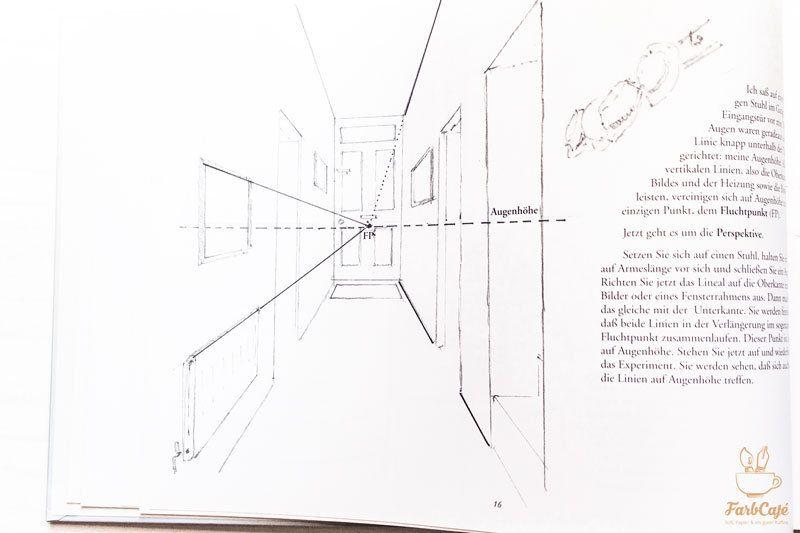 Innenraum Fluchten Zeichnen Lernen Farbcafe