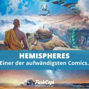 Die Jungs von Hemispheres stemmen ein Mammutprojekt und haben vier harte Jahre lang an einem der aufwändigsten Comics dieser Zeit gearbeitet.