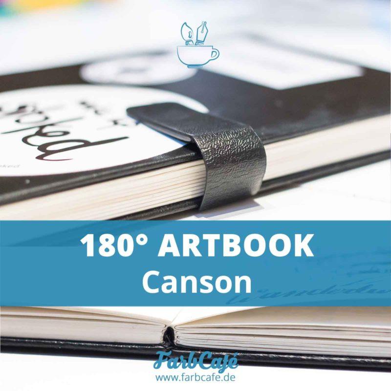Das 180° Skizzenbuch von Canson im Testbericht auf FarbCafé.de