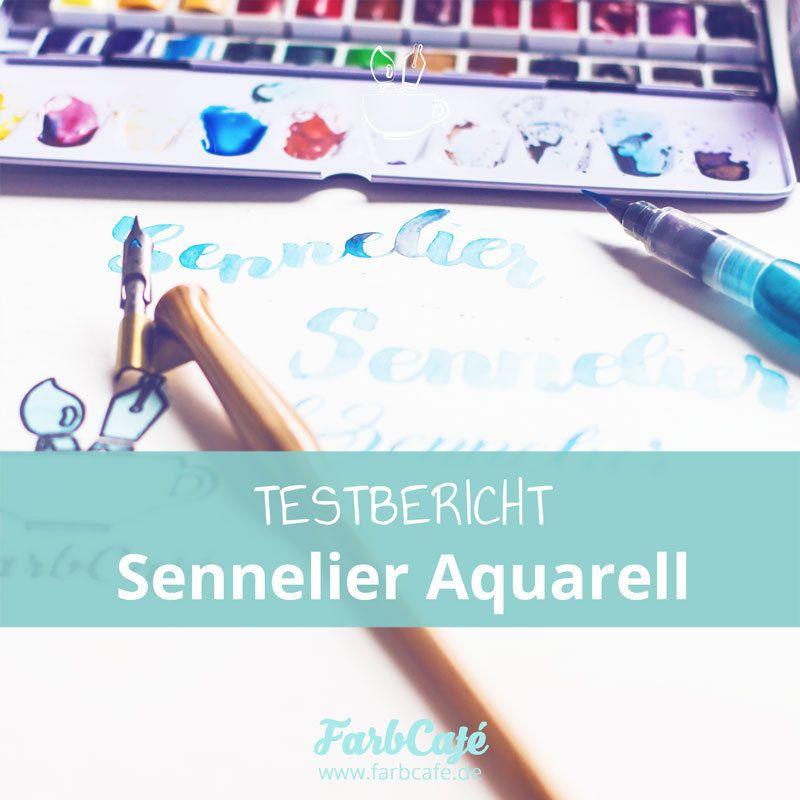 Sennelier Aquarellfarben im Testbericht auf FarbCafe.de