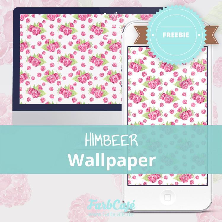 Himbeer-Wallpaper zum Herunterladen