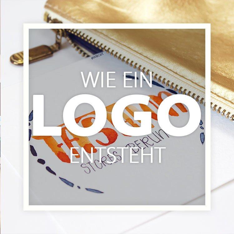 So entsteht ein Logo. Es ist mehr Aufwand, als man gemeinhin denkt!