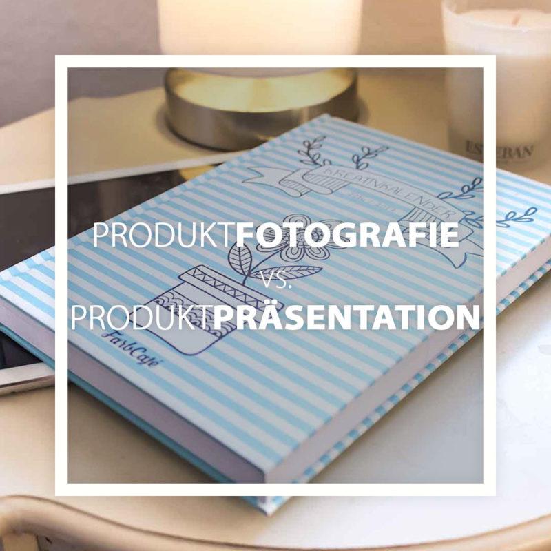 Lerne den Unterschied zwischen Produktpräsentation und Produktfotografie. Und erfahre, wann du was einsetzt.