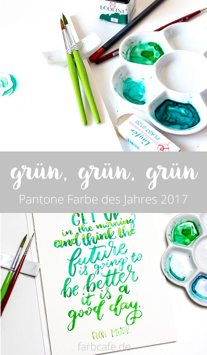 Greenery ist die Farbe des Jahres 2017 von Pantone