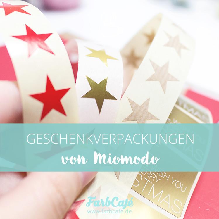 Auf Miomodo findest du tolle Geschenkverpackungen für jeden Anlass!