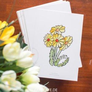 Löwenzahn - Postkarten