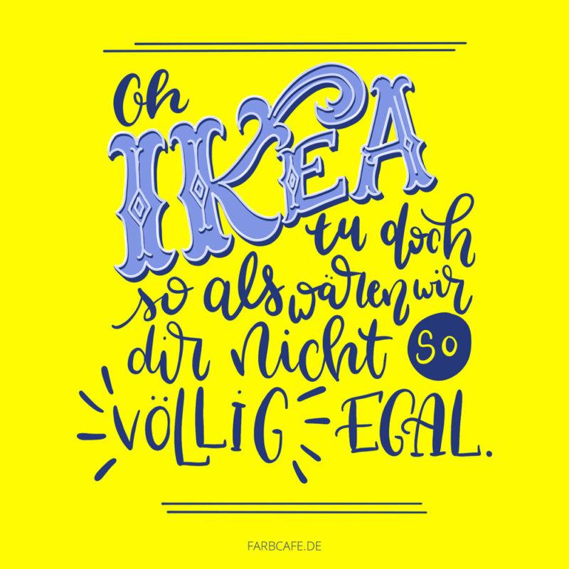 Ikea bekommt Geld und liefert nicht.