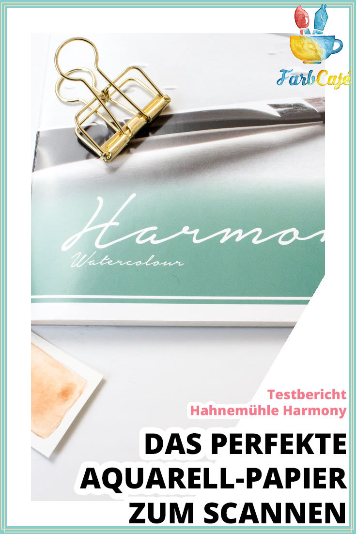 Hahnemühle-Harmony Aquarellpapier Testbericht auf farbcafe.de
