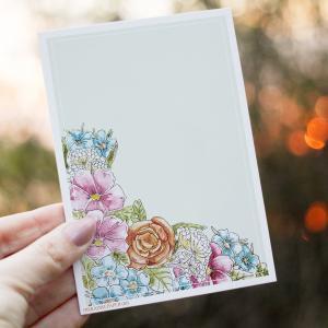 """Postkarte """"Calm"""" von der #ParadisePaper - Kollektion"""