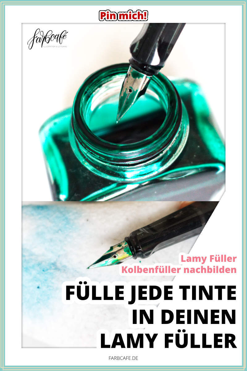 Mit dem RICHTIGEN Konverter kannst du in jedem Lamy Füller deine liebste Tinte benutzen!