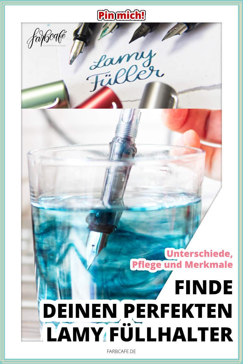 Finde deinen perfekten Lamy Füller. Meine Top 6 mit allen Merkmalen, Entscheidungshilfen und Details.