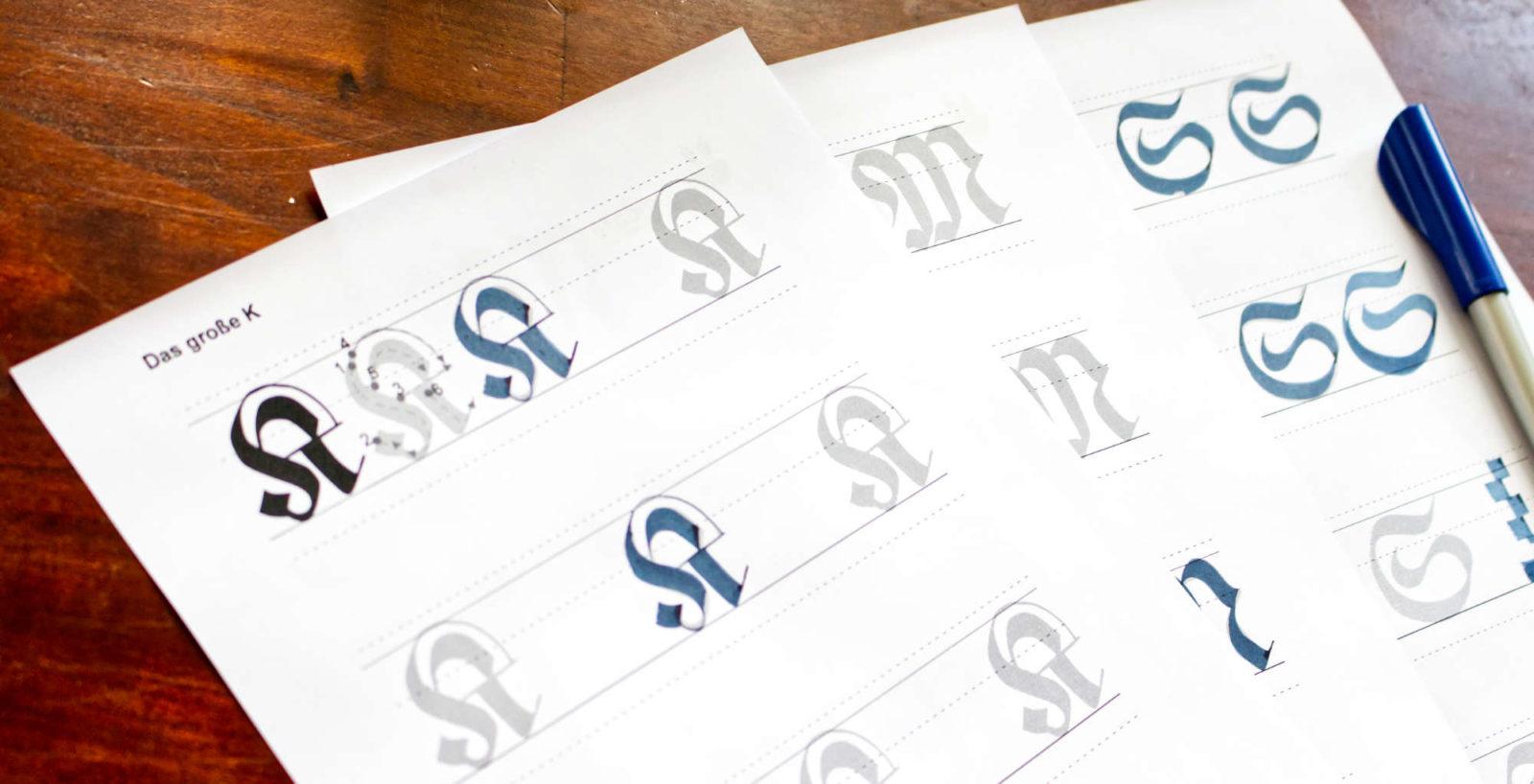 Kalligrafie Lernen Leicht Gemacht Deine Einfuhrung Farbcafe